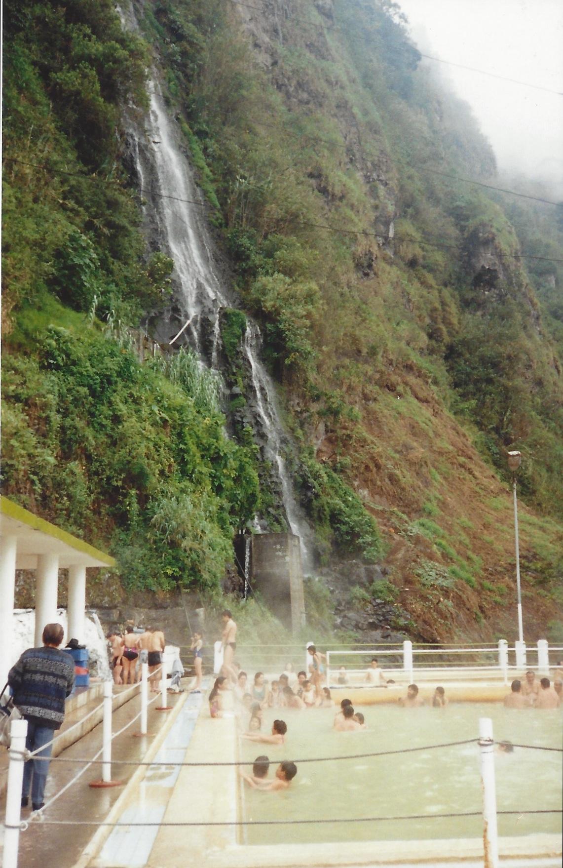 Cascada de Agua Santa, Baños, Ecuador