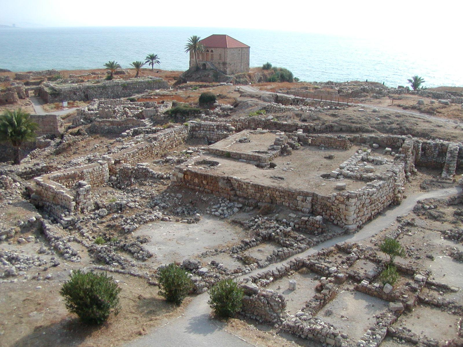 Phoenician Ruins, Byblos, Lebanon