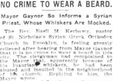 The New York Times April 27, 1911.