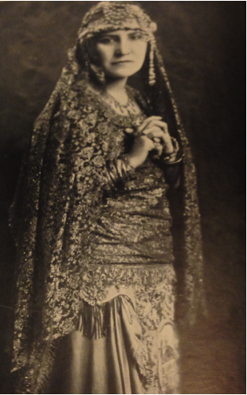 Figure 1: Princess Rahme Haidar, From Under Syrian Stars 1929