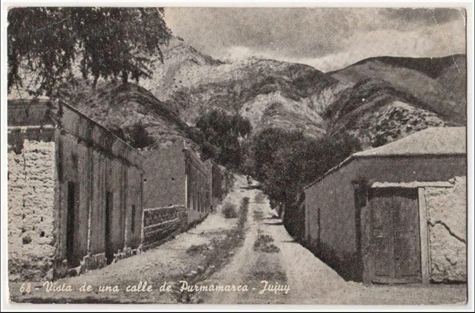 Argentina's arid Jujuy Province, 1940.