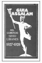 Guía Assalam de Comercio Sírio-Libanés appeared in 1927