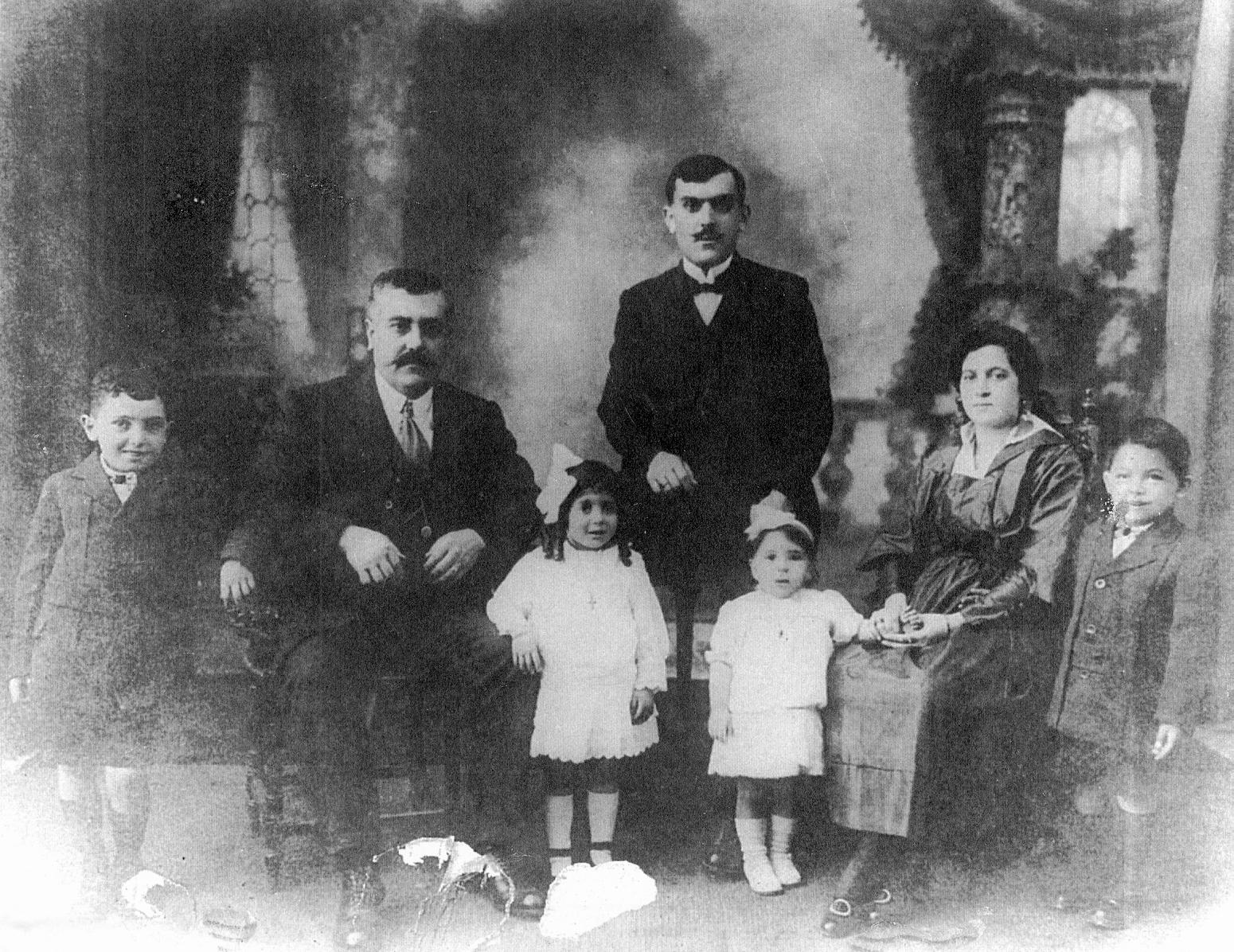 Haddad Family. 1918. Queenstown
