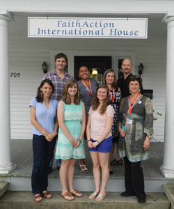 FaithAction International House team