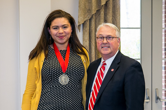 Outstanding Seniors Awarded NC State's Highest Non-Academic Distinction