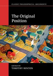 New Book Explores Political Philosopher's Original Position