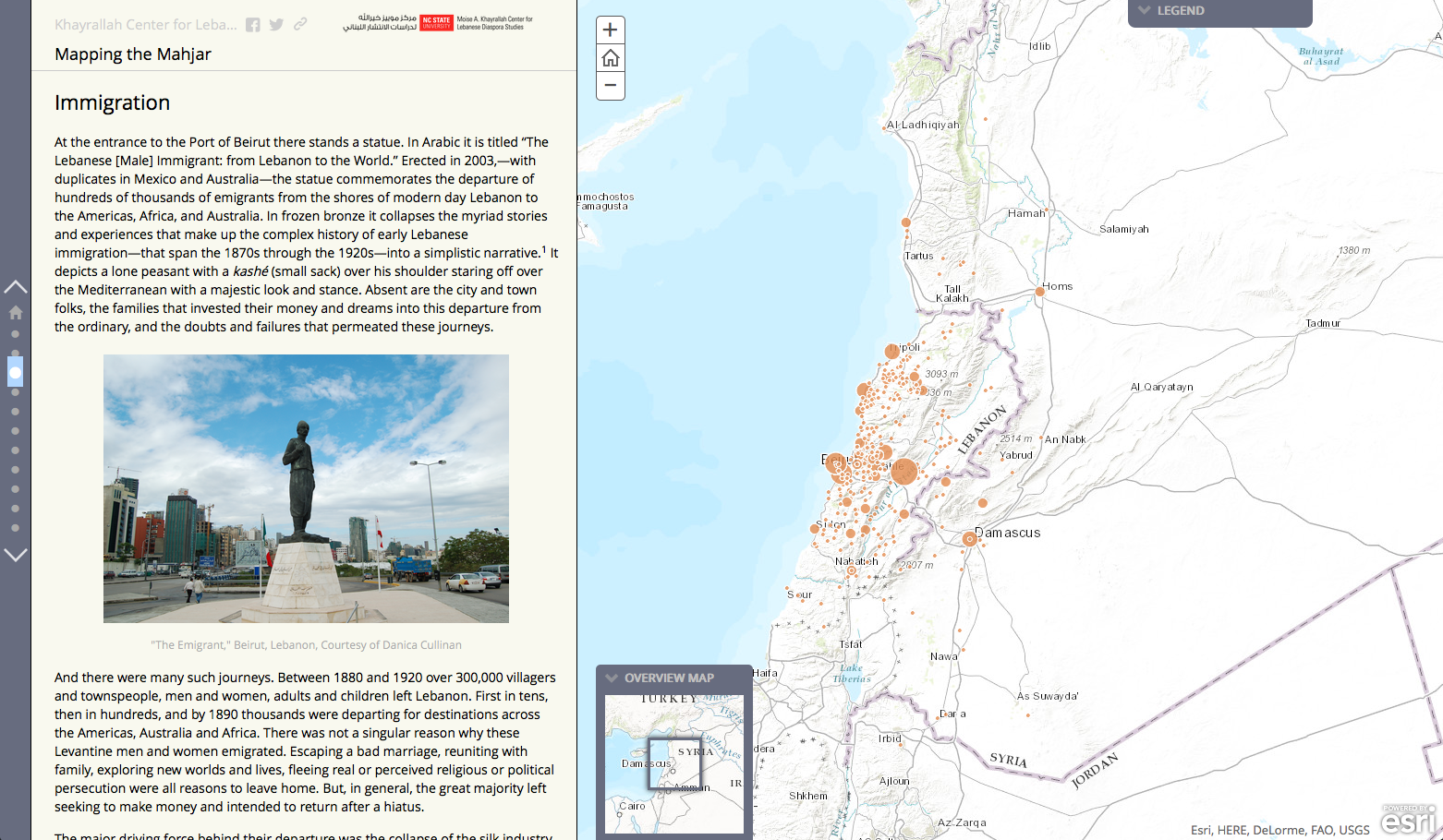 Mapping the Life, Work of Lebanese-American Business Owners
