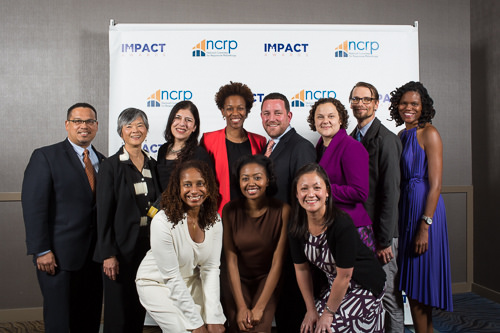 5.16.16 Congressman Keith Ellison with Awardees, NCRP staff and board members