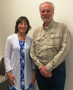 Linda Tannenbaum and Ronald W. Davis, Ph.D. of the Open Medicine Foundation