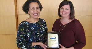 Raleigh Arts staff receive award on behalf of the Arts Learning Community for Universal Access