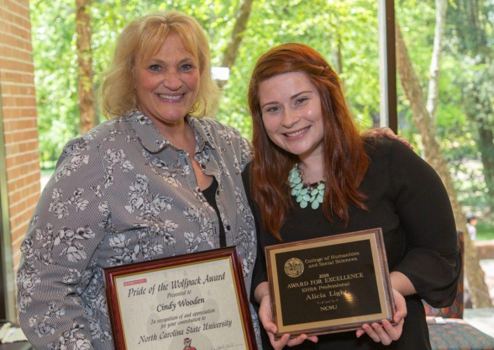 Cindy & Alicia Win Awards