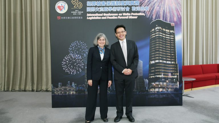 Dr. Joan Pennell at a Conference in Taiwan