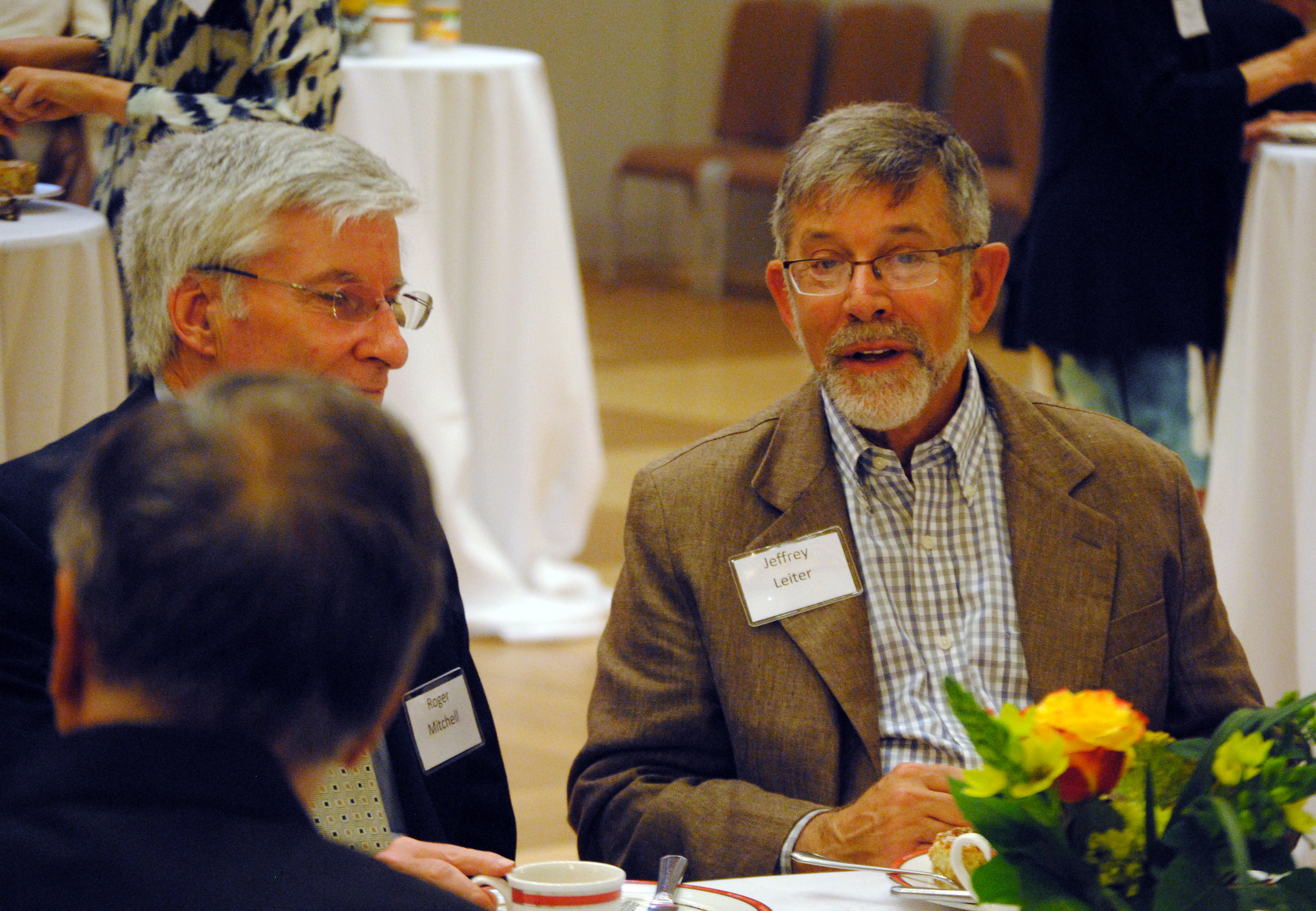 Retired Faculty Honored at Brunch