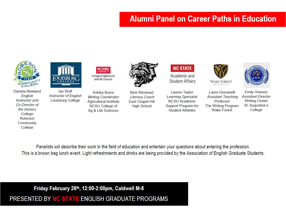 Career Panel Flyer 2016