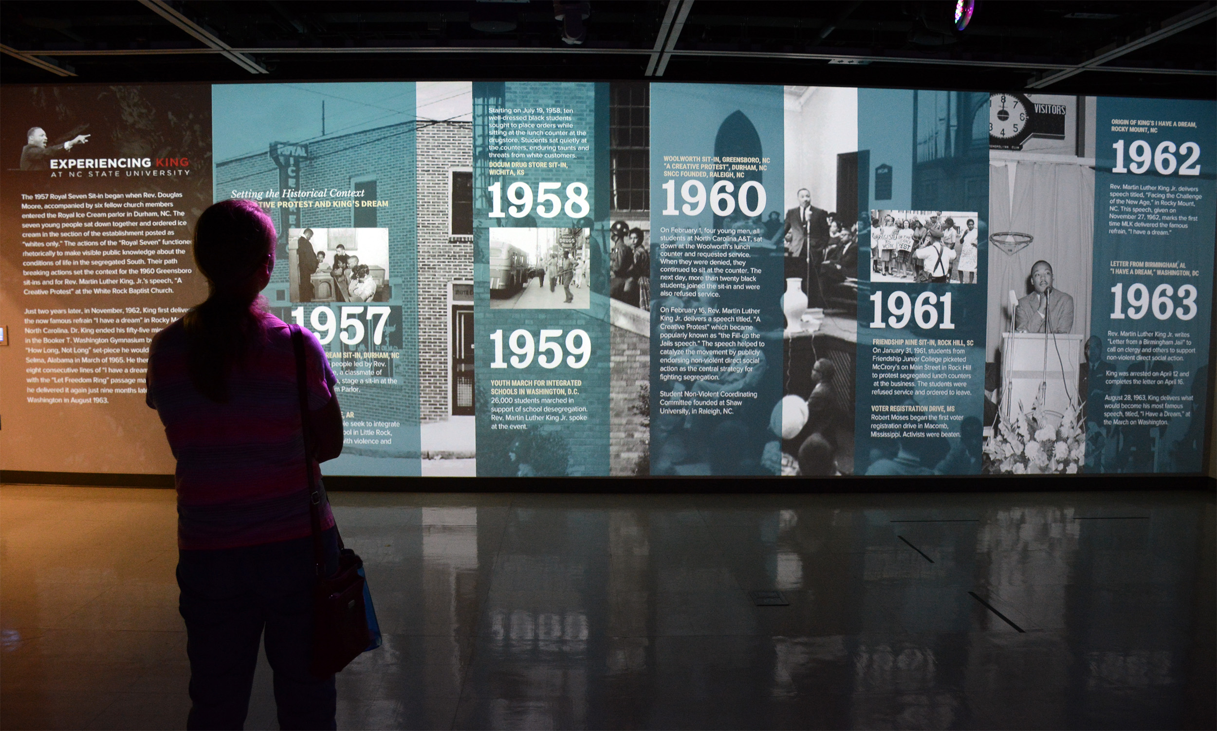 Experiencing King Uses Technology, Art to Showcase Magnitude of MLK