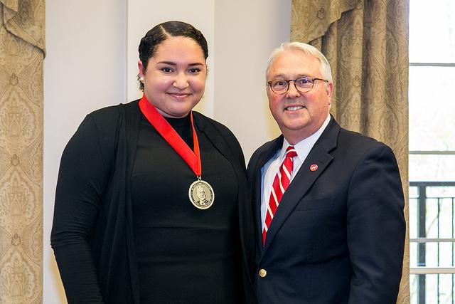Outstanding Seniors Awarded NC State's Highest Non-Academic Distinction