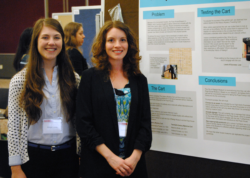 Grad Students Display Innovative Work at Research Symposium