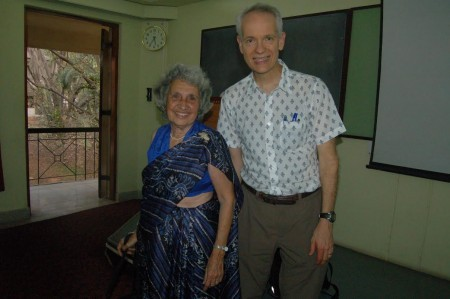 Almitra Patel and Ross Bassett