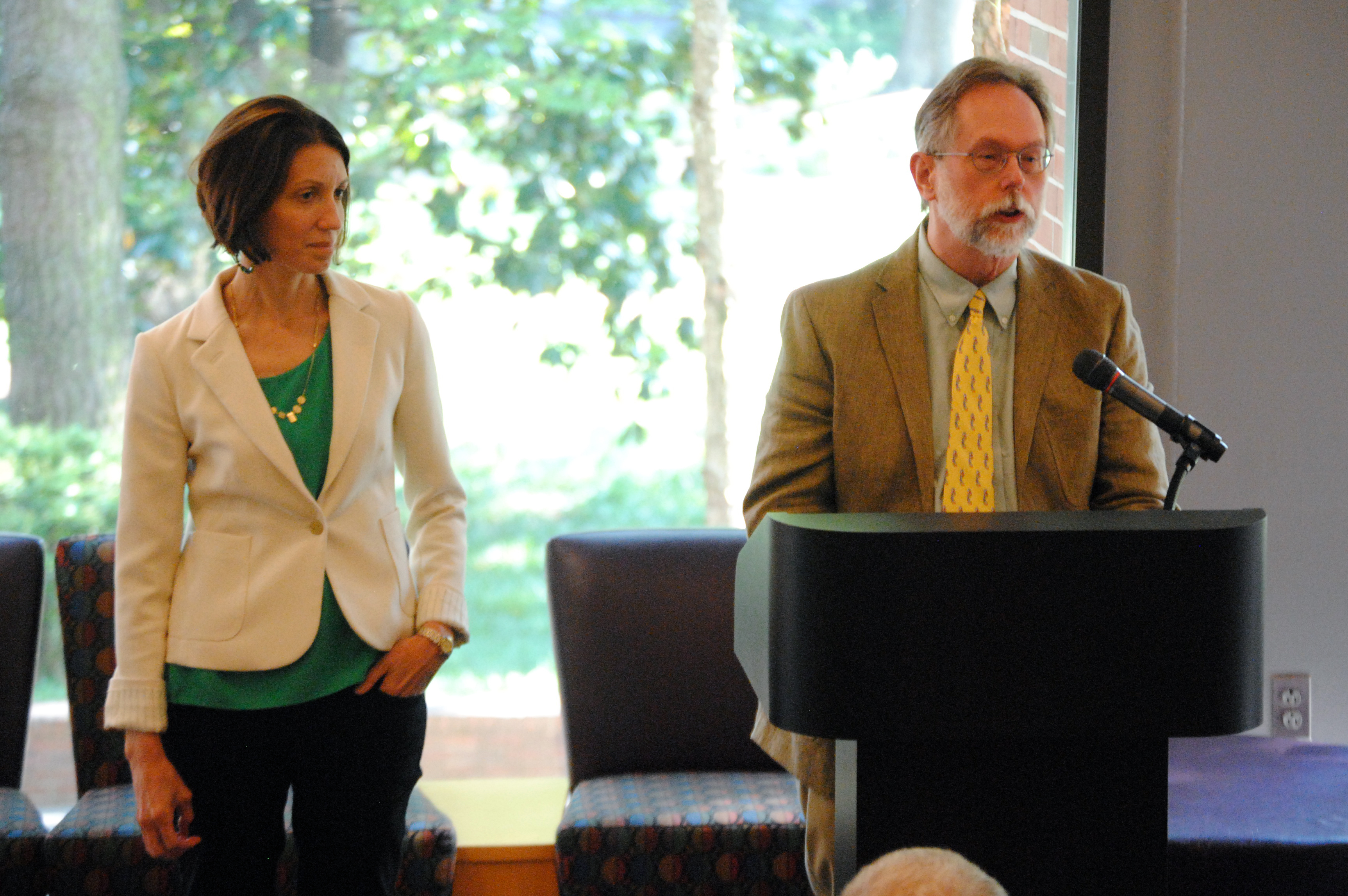 Faculty Event Honors Scholars Who Think and Do