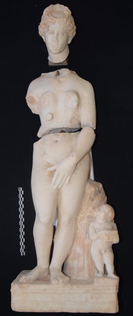 NC State Faculty, Students Unearth Ancient Mythological Statues